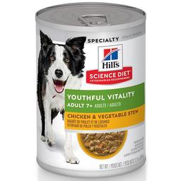 Lata Dog Hills Science Diet Youthful Vitality 7+ 12.5 Oz