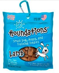 Snack Dog Houndations Lamb 4 Oz