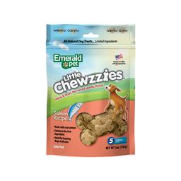 Snack Emerald Pet Dog Little Chewzzies Salmon 5 Oz