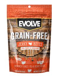 Snack Evolve Dog Grain Free Jerky Turkey 12 Oz