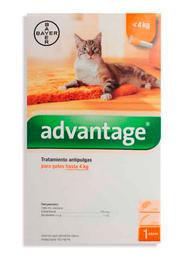 Advantage Spot On Gatos Hasta 4 Kg