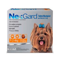 Nexgard Perros 2 A 4 Kg