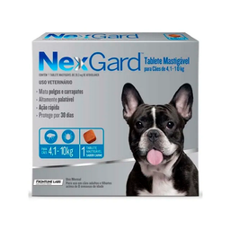 Nexgard Perros 4 A 10 Kg
