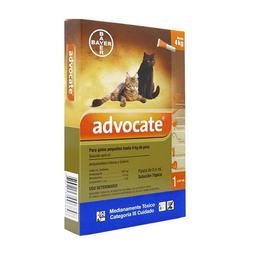 Advocate  Spot On Gatos Hasta 4 Kg