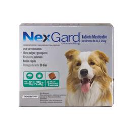 Nexgard Perros 10 A 25 Kg