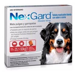 Nexgard Perros 25 A 50 Kg