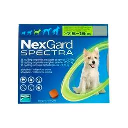 Nexgard Spectra 7.5 A 15 Kg