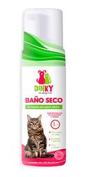 Baño Seco Espumoso Dinky Gato Adulto 200 Ml