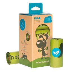 Bolsa Earth Rated Sin Fragancia Rollos Biodegradable 8 U