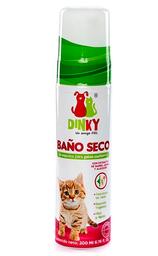 Baño Seco Espumoso Dinky Gatos Cachorros