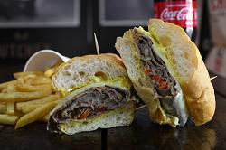 Filadelfia Steak en Combo