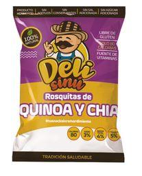 Rosquillas Delisinu Quinoa Chia 30G