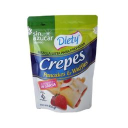 Diety Mezcla Crepes. Pancakes & Waffles 250 Gr