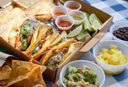Caja Taquera Vegetariana 10 tacos