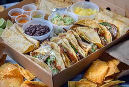 Caja Taquera Vegetariana 20 tacos