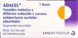 Vacuna contra Difteria tetano y tosferina acelular
