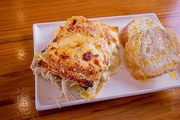 Lasagna de Pollo y Espinacas
