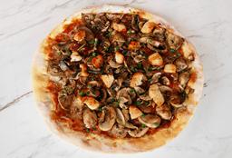 Pizza Pollo y funghi