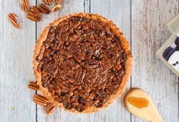 Maple Bourbon Pecan Pie 4 a 6 Porciones