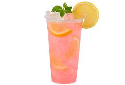 Agua Lychee con Fresas