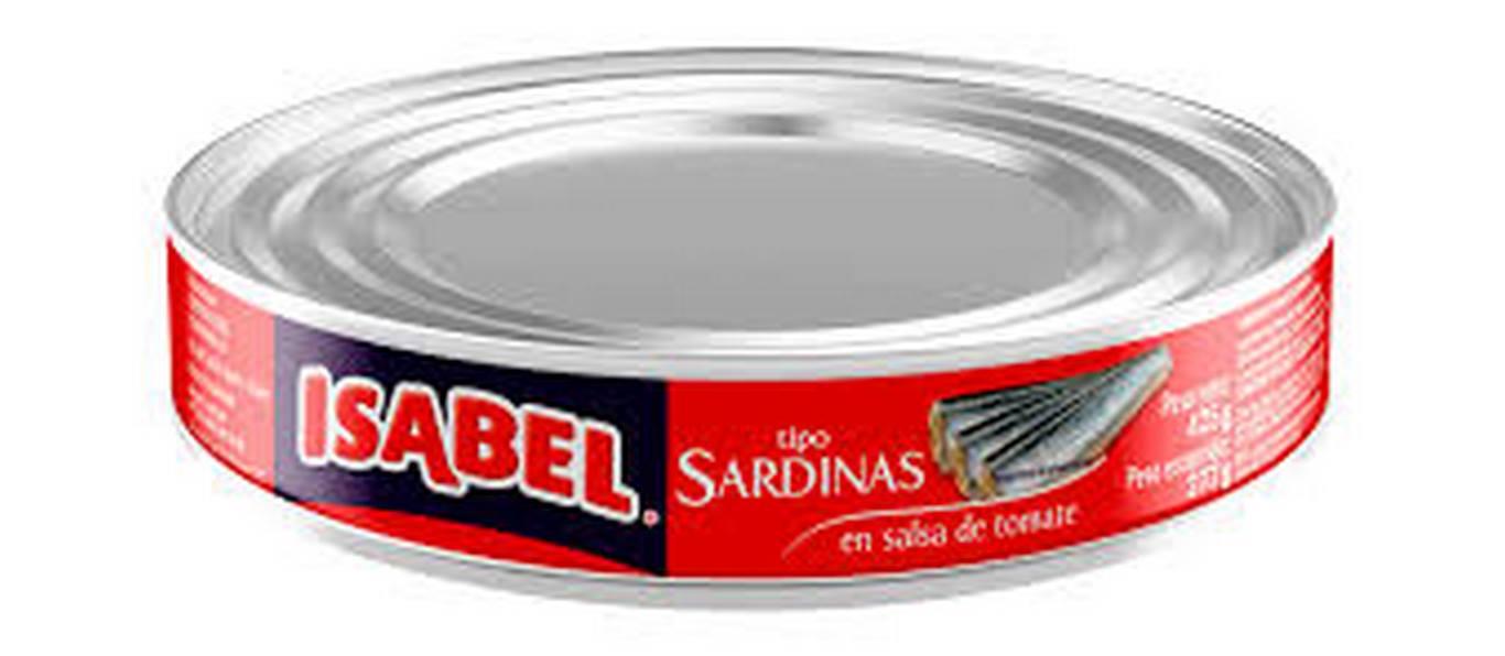 Sardina Isabel X425 Gr Tomate