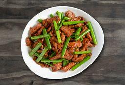 Wok Mongolian Beef
