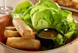 Vegetables Spring Rolls x4