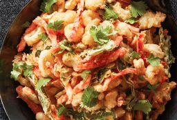 Tempura Calamari & Vegetales