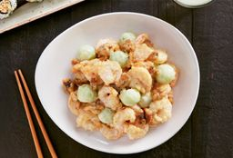 Walnuts Shrimp With Melon