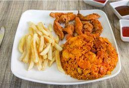 Combo Pollo a La Naranja