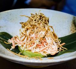 Crunchy Kani Crab Salad