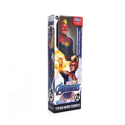 Figura de Acción DC Capitana Marvel Titan Hero Series