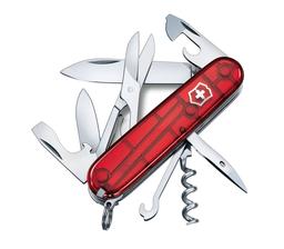 Navaja Victorinox Climber Rojo Transparente