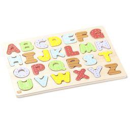 Puzzle de madera alfabeto