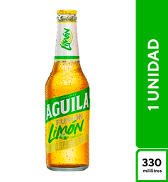 Aguila Light Limón 330 ml