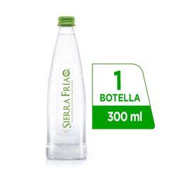 Agua Sierra Fría con Gas 300 ml