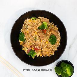 Pork Maní Teriyaki