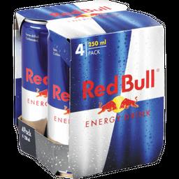 4 Pack Red Bull X 250 Ml