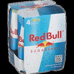 4 Pack Red Bull Sugar Free X 250 Ml