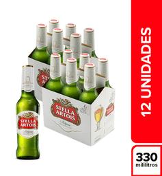 Cerveza  Stella Artois  Display X12 Botellas 330 Ml
