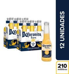 Cerveza  Coronita  Display X12 Botellas 210 Ml