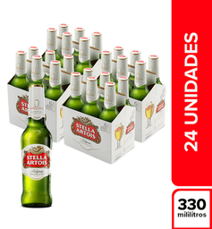 Cerveza Stella Artois Bandeja X24 Botellas