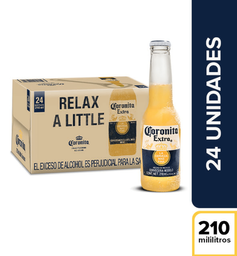 Cerveza  Coronita  Bandeja X24 Botellas 210 Ml