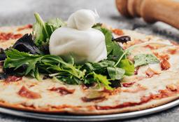 Pizza Mediana Burratina y Prosciutto