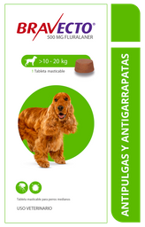 Bravecto Spot On Dog 500 Mg (10 - 20 Kg)