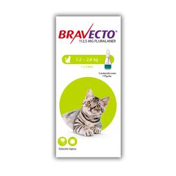 Bravecto Spot On Cat 112,5 Mg (1,2 - 2,8 Kg)