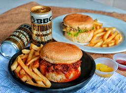 Combo Sandwich y Hamburguesa + BBC