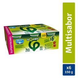 Yogurt Alpina Regeneris Trozos Vaso 150 g x 6