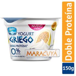Yogurt Alpina Griego Maracuya Vaso 150 g