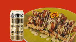 Combo Chicken Wafflemole BBC